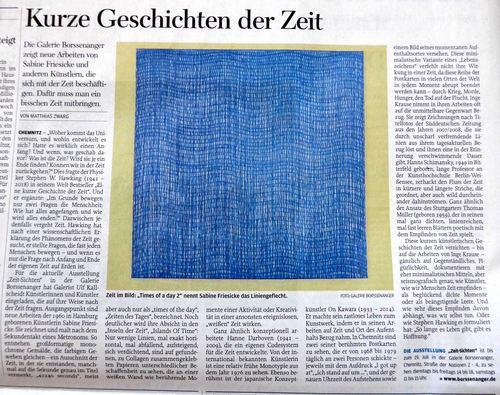 review, Freie Presse, Chemnitz, 28. Juni, 2019